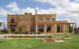 Dar Malika properties at Samanah resort in Marakesh, Morocco