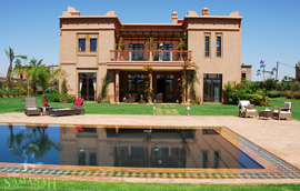 Riad Tamir properties at Samanah resort in Marrakech, Morocco