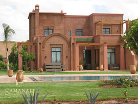 Dar Amira properties at Samanah resort in Marakesh, Morocco