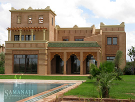 Dar Hasna properties at Samanah resort in Marakesh, Morocco